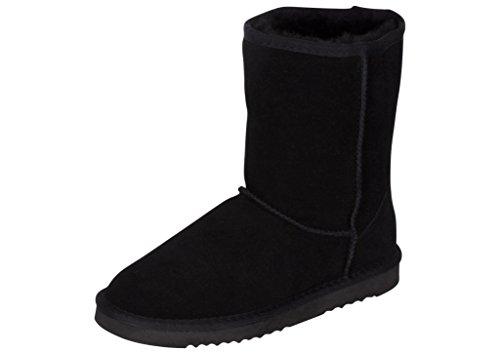 Kemi Women's Bella Classic Short Winter Boots – Suede Ladies Winter Snow Boots (5 B(M) US, ()