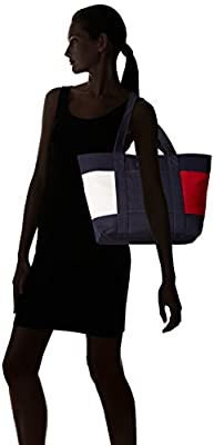 Tommy Hilfiger Th Flag Canvas Tote Bag for Women