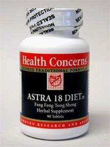 Озабоченность по поводу здоровья - Astra 18 Диета топлива 90 таблеток