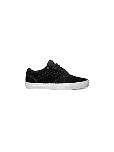 Vans Mens Euclid OTW Skateboarding Shoes Black White Black White w0NziC3Vb