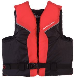 Stearns Youth Paddlesports Life Vest Red [並行輸入品]   B06XFV7XH4