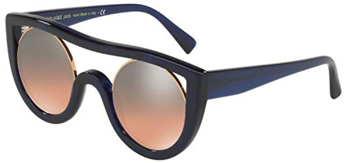 Alain Mikli Sunglasses A05034 005/56 45-25-145 Ayer Denim Rose Gold/Orange (Mikli Sunglasses)