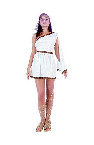 RG Costumes Women's Roman Toga Adult White Small 4-6