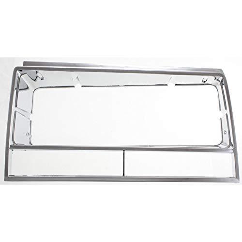 Headlight Door For 1982-1987 Chevrolet El Camino Left Chrome