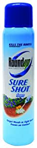 Roundup 5810510 Weed & Grass Killer Sure Shot Foam Spray, 16-Ounce (Not Sold in AK, HI)