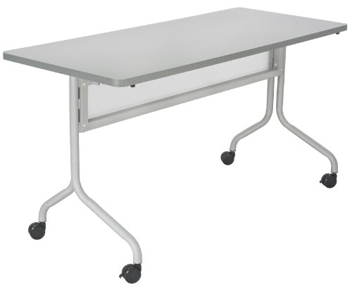 Training Room Table (Safco Products 2070GRSL Impromptu Rectangle Mobile Training Table, 48