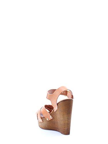 Byblos blu - Sandalias de vestir para mujer marrón cuero cuero