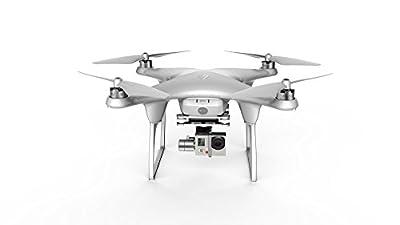 FUAV Seraphi FPV Quadcopter with Two Batteries- US PLUG/WHITE