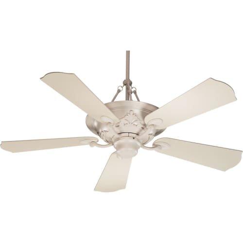 antique white ceiling fan - 5