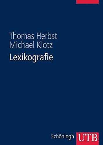 Lexikografie: Eine Einführung