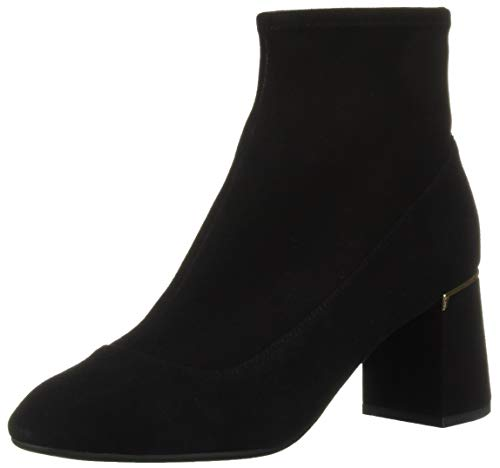 Cole Haan Women's Laree Stretch Bootie Ankle Boot, Black Suede, 5 B US (Cole Haan Short Boots For Women)