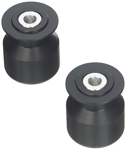 - Krator 701-0300 Black Swingram Spool Slider (Honda/Suzuki/Kawasaki/Ducati CBR 954 RR GSXR 600 750 1000 1300 SV650)