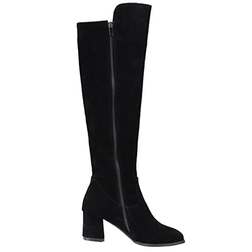 AIYOUMEI Women's Classic Boot Black n94WoRBUf