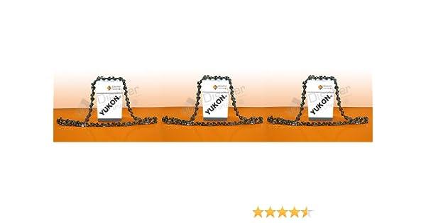 3 cadenas de motosierras 3/8P-1, 3-52 Para Dolmar PS34 PS41 PS-33 ES: Amazon.es: Bricolaje y herramientas