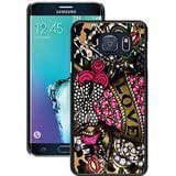 S6 Edge+ Phone Case,Betsey Johnson 16 Black Samsung Galaxy S6 Edge Plus Case