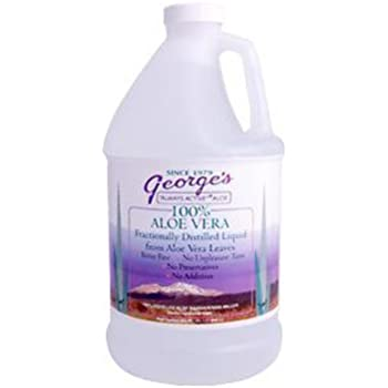 Aloe Vera Drink 64 oz George's Always Active Aloe 64 oz Liquid