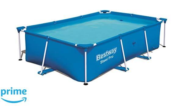 Bestway 56403 Steel propool 259 x 170 x 61 cm, Marco de Acero Pool, Azul: Amazon.es: Juguetes y juegos
