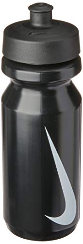 Squeeze Big Mouth Water Bottle, 650Ml, Preto