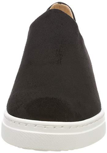 Unisa Donna Infilare Nero Sneaker stl Felip Black black 1pqwr1P