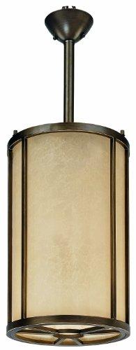 Painted Bronze Thomas Lighting Chandelier - Thomas Lighting M296263 Longitude Chandelier, Painted Bronze
