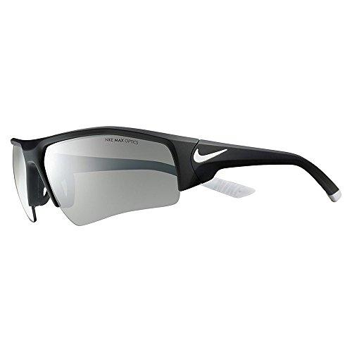 Nike EV0861-001 Skylon Ace XV Pro Sunglasses (One Size), Black/White, Grey Lens
