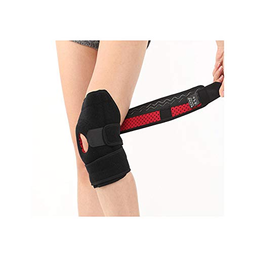 Knee Brace for Men and Women-Adjustable Kneecap Stabilizers Open Patella and Meniscus Support, Suitable Relief for Comfort-Helps with Hypermobility, Ligament Tear, Injuries, Arthritis-FDA (Best Hypermobility Knee Brace)