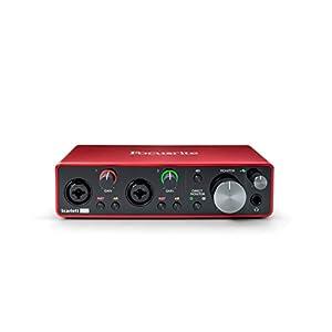 Focusrite Scarlett 2i2 (3rd Gen) USB Audio In...