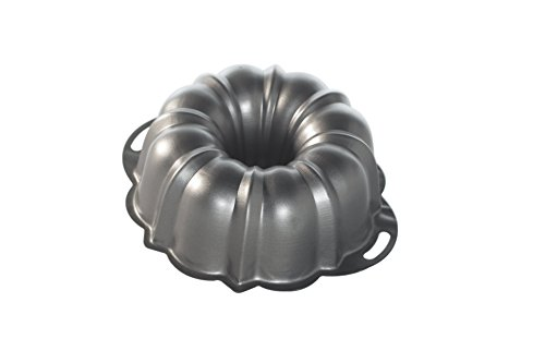 - Nordic Ware 50342 ProForm Bundt Pan with Handles, 12 Cup