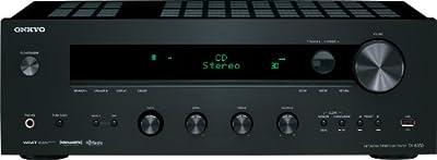 Onkyo TX-8050 Network Stereo Receiver (Black)