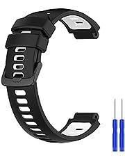 Meiruo Silikon Ersättnings Armband för Garmin Approach S20/Approach S5/Forerunner 220/Approach S6/Garmin Forerunner235XT/735XT