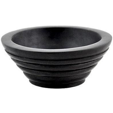 Step Sided Stone Incense Burning Bowl