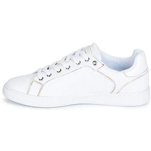 Bianca White Per Crayz Guess Bianco Sneaker Donna fngOwxA