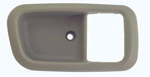 DELPA CL4908 > Front Right Inside Door Handle Bezel Trim Cover Casing Light Gray Fits: 00 Thru 06 Toyota Tundra Regular & Ext Access - Light Handle Inside Door