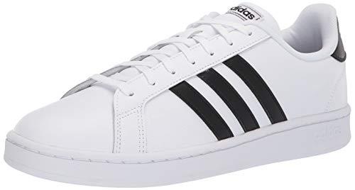 adidas Men's Grand Court, Black/White, 10.5 M ()