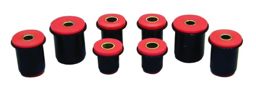Prothane 7-214 Red Front Control Arm Bushing Kit with -