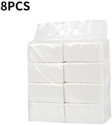 [해외]8PC Paper Towels Soft Skin-Friendly Household Napkins Toilet Paper Towels Facial Tissues 135 Sheets / 8PC Paper Towels Soft Skin-Friendly Household Napkins Toilet Paper Towels Facial Tissues 135 Sheets