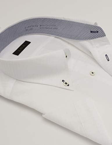 3L~5L 半袖 大きいサイズ 吸水速乾加工で快適に 形態安定 DHRX76 メンズ