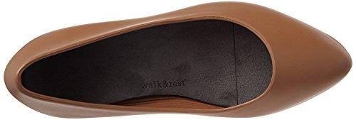 Con amp;rest 38 0 Walk Plateau Wedge Ballerine brown Marrone Donna 2201300 dTdqt