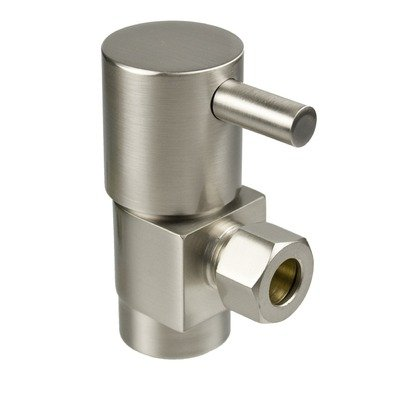 (Mountain Plumbing MT5001L Lever Handle Angle and Straight Valves with IPS Inlet Finish: Polished Brass)