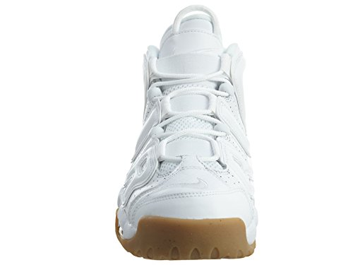 Homme Nike Sport white Light More Chaussures bamboo gum Blanco Uptempo white Air basketball Brown De rwrRf0q