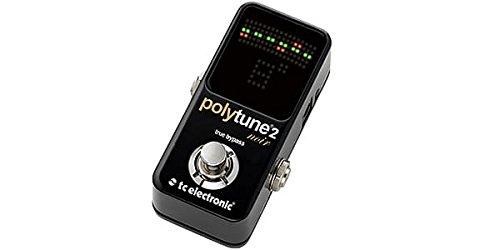 TC ELECTRONIC ティーシーエレクトロニック ギター/ベース用チューナー PolyTune 2 Noir   B0758BWG21