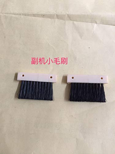 (ShineBear 2PCS Latch Opening Clearing Brush Spare Parts for Silver Reed/Singer Knitting Machine Auxiliary Engine SRP60N FRP70 SK280)