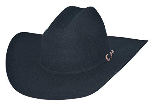 MonteCarlo Hat Co Plane Range 4X Black Felt Kids Hat from MonteCarlo Hat Co