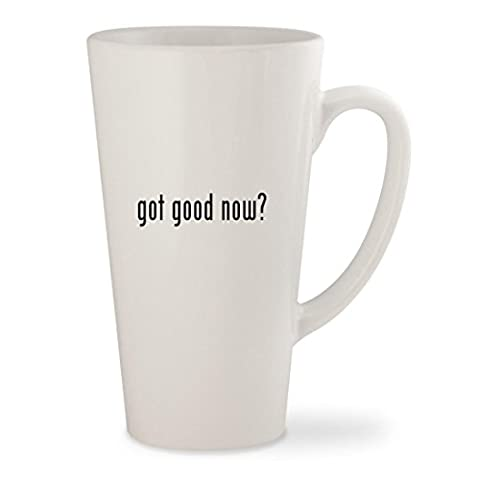 got good now? - White 17oz Ceramic Latte Mug Cup (The Good Wife Season 6 Watch Now)