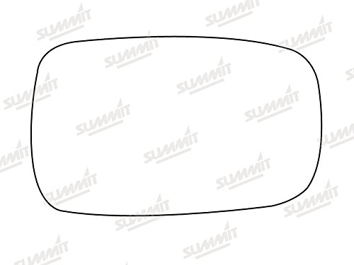 Summit Replacement Mirror Glass With Backing Plate Fits on rhs and lhs of vehicle