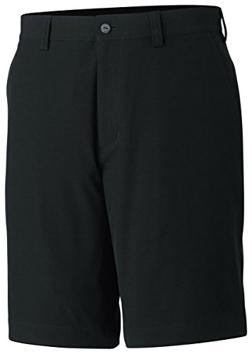 (Cutter & Buck Mens Big & Tall Bainbridge Shorts Black 44)
