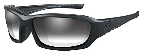 Harley-Davidson Men's Gem Light Adjusting Sunglasses, Matte Black Frame - Sunglasses Adjusting Light