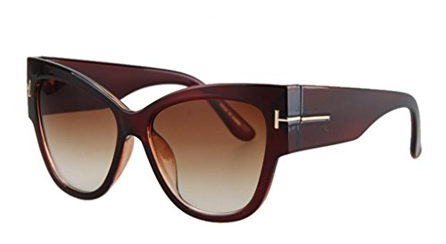 Personality Cateye Sunglasses Trendy Big Frame - Vancouver Test Eye