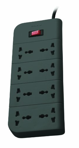 Belkin Essential Series F9E800zb2MGRY 8-Socket Surge Protector