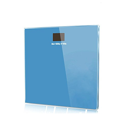Moon Daughter Blue Digital Bathroom Body Glass Weight Heath LCD Scale 400lb Auto Shutdown by Moon_Daughter